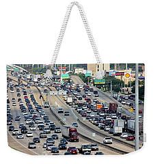 Highway 59 Weekender Tote Bag by Lorna Maza