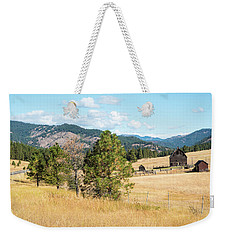 Highway 97 Ranch Memories Weekender Tote Bag