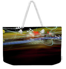 Highway Lights Weekender Tote Bag