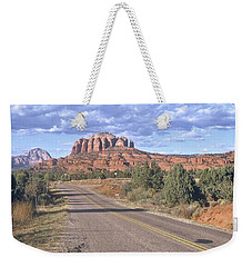 Highway To Sedona Weekender Tote Bag