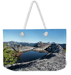 Hiker's Bathtub Weekender Tote Bag