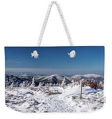 Hiking Along The Appalachian Trail Weekender Tote Bag by Serge Skiba