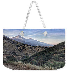 Hiking Johnson's Pasture Weekender Tote Bag