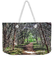 Hiking Meridian State Park  Weekender Tote Bag