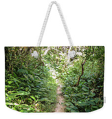Hiking Path In The Atlantic Forest Weekender Tote Bag