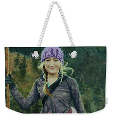 Hiking The White Mountains Weekender Tote Bag