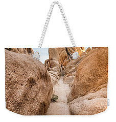 Hiking Trail In Joshua Tree National Park Weekender Tote Bag