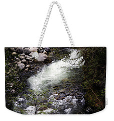 Hiking Wallace Falls#1 Weekender Tote Bag