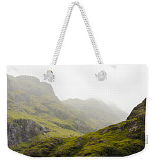 Weekender Tote Bag featuring the photograph Hill And Glen by Christi Kraft