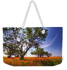 Hill Country Spring Weekender Tote Bag