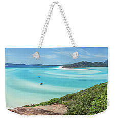 Hill Inlet Lookout Weekender Tote Bag by Az Jackson