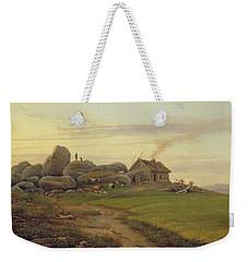Hill Top Weekender Tote Bag