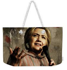 Hillary Clinton 02 Weekender Tote Bag