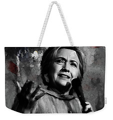 Hillary Clinton  Weekender Tote Bag by Gull G