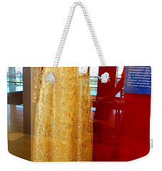 Hillary Clinton State Dinner Gown Weekender Tote Bag by Randall Weidner