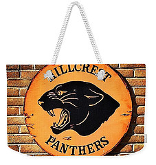 Hillcrest Elementary Panthers Sign Weekender Tote Bag