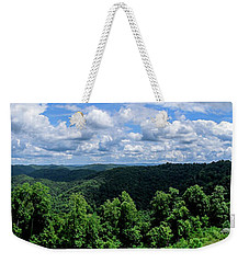 Hills And Clouds Weekender Tote Bag