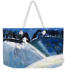 Hillside In Winter Weekender Tote Bag