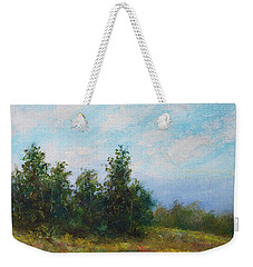 Hilltop Trees Weekender Tote Bag by Kathleen McDermott