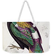Himalayan Monal Pheasant Weekender Tote Bag
