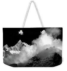 Himalayan Mountain Peak Weekender Tote Bag