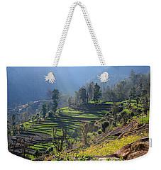 Himalayan Stepped Fields - Nepal Weekender Tote Bag