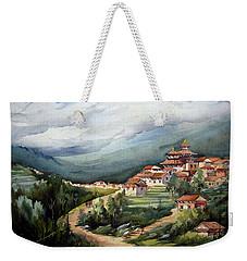 Himalayan Village  Weekender Tote Bag