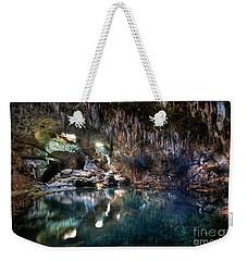 Weekender Tote Bag featuring the photograph Hinagdanan Cave by Yhun Suarez