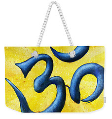 Hindu Om Symbol Art Weekender Tote Bag