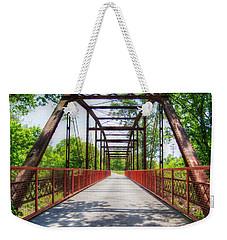 Hinkson Creek Bridge Weekender Tote Bag