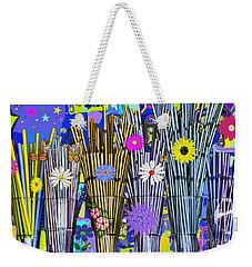 Hippie Hippie Straws Weekender Tote Bag