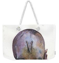 Hippo Back Weekender Tote Bag