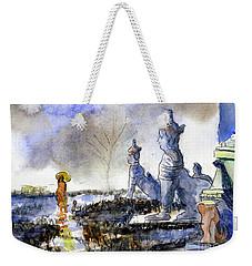 His And Hers Temples Weekender Tote Bag