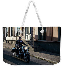His First Ride Weekender Tote Bag