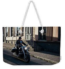 His First Ride Weekender Tote Bag