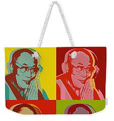 His Holiness The Dalai Lama Of Tibet Weekender Tote Bag