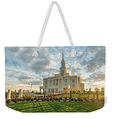 His Light Weekender Tote Bag