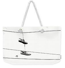 His Weekender Tote Bag by Linda Hollis