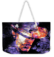 His Love Song  Weekender Tote Bag by Annie Zeno