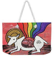 His Masterpiece Weekender Tote Bag