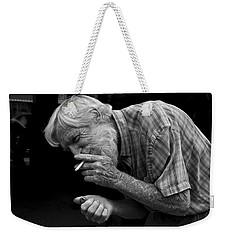 His Name Is Bow Weekender Tote Bag