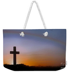 Weekender Tote Bag featuring the photograph His Promise by Benanne Stiens