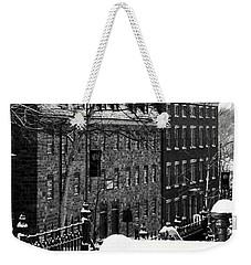 Weekender Tote Bag featuring the photograph Historic Bethlehem Pa by DJ Florek
