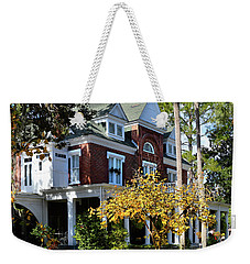 Weekender Tote Bag featuring the photograph Historic Brunswick Residence by Laura Ragland