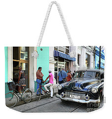 Historic Camaguey Cuba Prints The Cars 2 Weekender Tote Bag