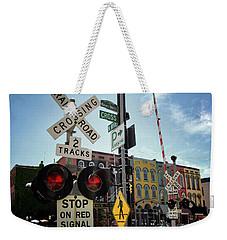 Historic Depot Town Ypsilanti Mi Weekender Tote Bag