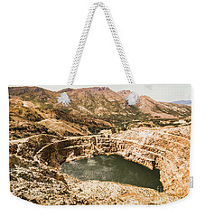Historic Iron Ore Mine Weekender Tote Bag