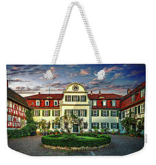 Historic Jestadt Castle Weekender Tote Bag by Anthony Dezenzio