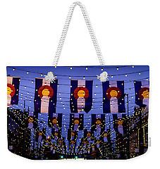 Historic Larimer Square Denver Weekender Tote Bag