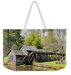 Historic Mabry Mill In Early Spring Weekender Tote Bag